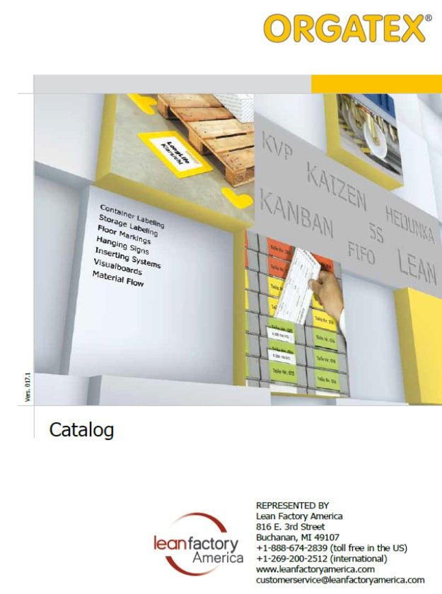 New Orgatex Catalogs Now Available!