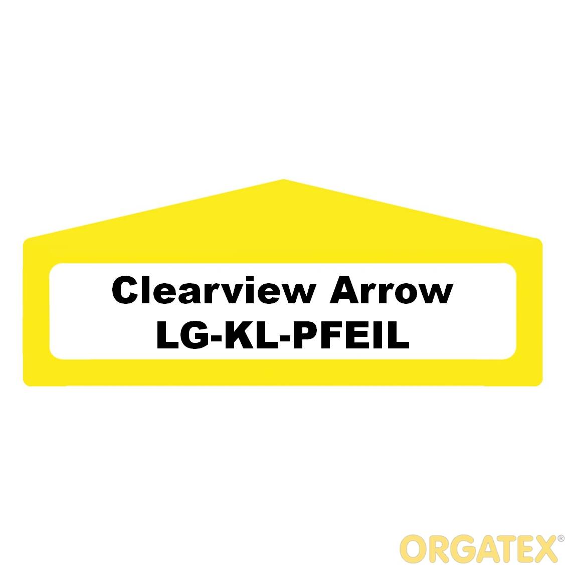 LongLife Clearview Arrow - Red