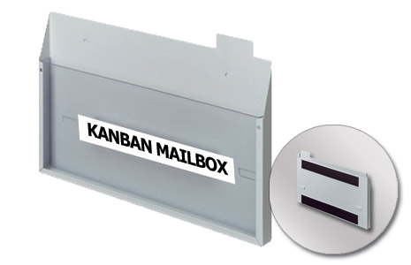Large Collection Mailbox - Horizontal -  Magnetic (337x210mm/13.27x8.27in)