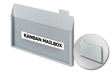 Collection Mailbox - Horizontal - Wall Mounting (250x150mm/9.84x5.90in)