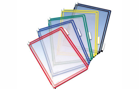 Color - Coded Document Holder Sleeves