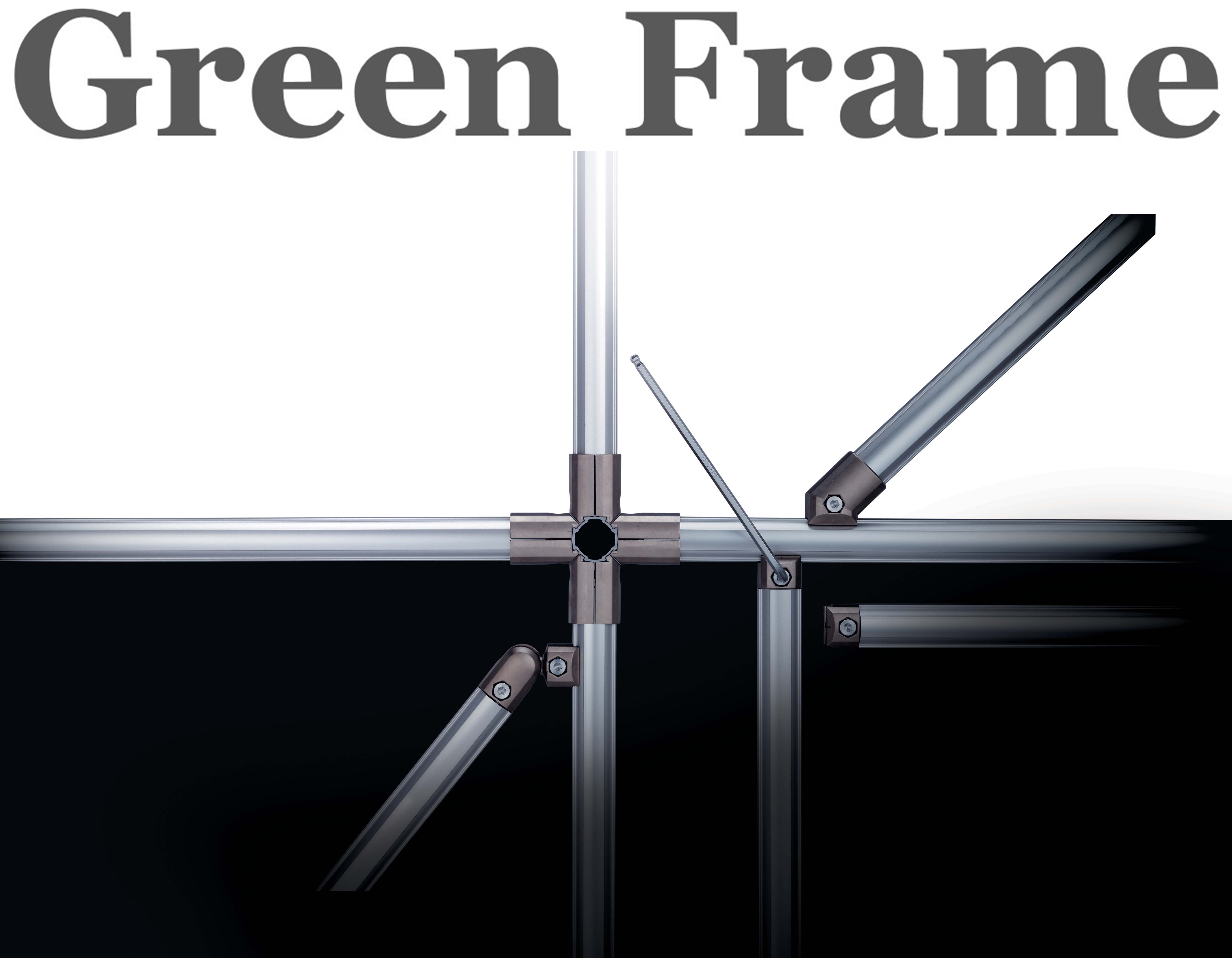 Green Frame Structural Aluminum Tube System