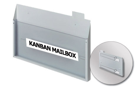 Large Collection Mailbox - Horizontal - Wall Mount (337x210mm/13.27x8.27in)