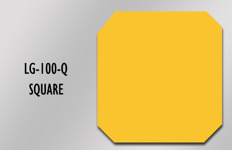 LongLife Floor Marking - Square (100mm/3.93in)