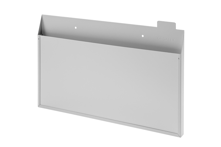 Large Collection Mailbox - Horizontal - Grey Front Plate
