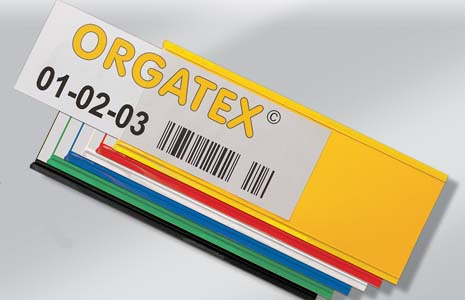 Magnetic and Self-Adhesive Label Holders - Mega