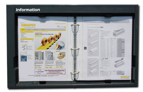Workstation Information Board - Standard US Version - ESD Safe